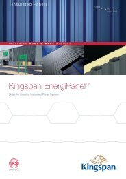 DW-4000 - VERTICAL INSTALLATION - Kingspan Insulated Panels