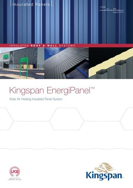 "Kingspan EnergiPanelâ""¢ - Kingspan Insulated Panels"