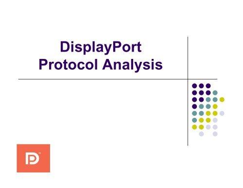 DisplayPort Protocol Analysis - FuturePlus Systems
