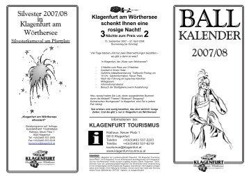 KALENDER - Klagenfurt