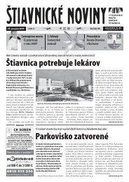 Štiavnické noviny 3 - Banská Štiavnica