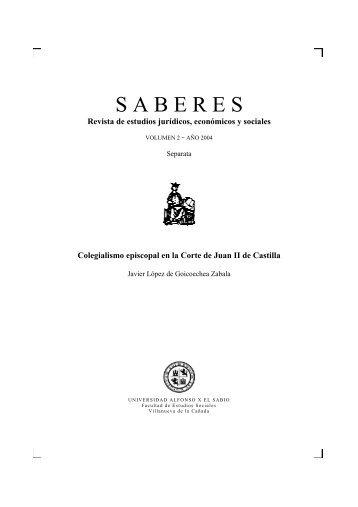 Colegialismo episcopal en la Corte de Juan II de Castilla