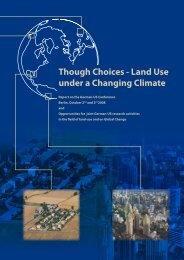 Though Choices - Land  Use under a Changing Climate - NKGCF