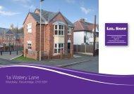 1a Watery Lane - Lee Shaw Partnership