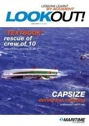 Issue 9, June 2008 - Maritime New Zealand