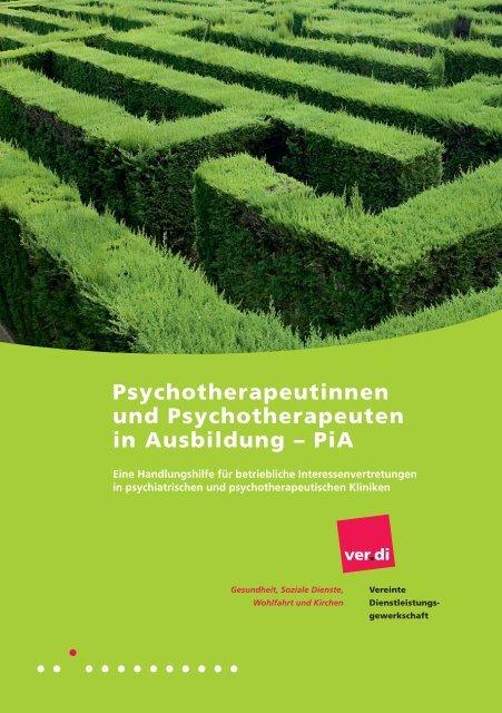 Psychotherapeutinnen und Psychotherapeuten in Ausbildung – PiA