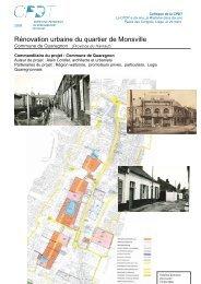 Rénovation urbaine du quartier de Monsville - cpdt.wallonie.be