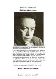 Modeling Albert Camus - NLP-TrainerAkademie
