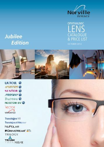 Lens Catalogue 2012 - Norville Group Ltd.