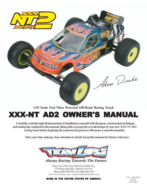 18T 32P Clutch Bell XXX-NT Losi Racing LOSA9381