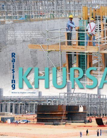 Khursaniyah mega-project emerges - Saudi Aramco