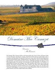 Domaine Meo Camuzet - winogrono.de