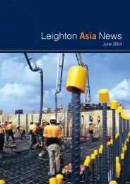 Leighton Asia News, June 2004 - Leighton Holdings