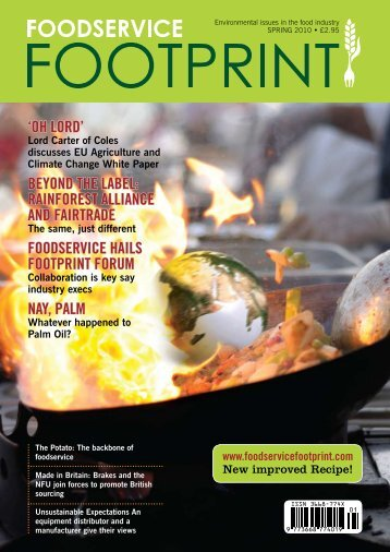 Download Foodservice Footprint Issue 5 - Winter 2010