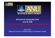NZ 3 CSC Jane Dixon updated PPnt - New Zealand Centre for ...