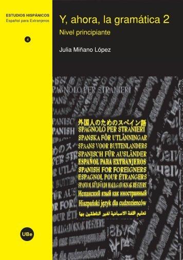 Y, ahora, la gramática 2 - Publicacions i Edicions de la Universitat ...