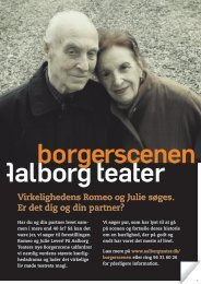Download A5-flyer for Borgerscenen (pdf) - Aalborg Teater