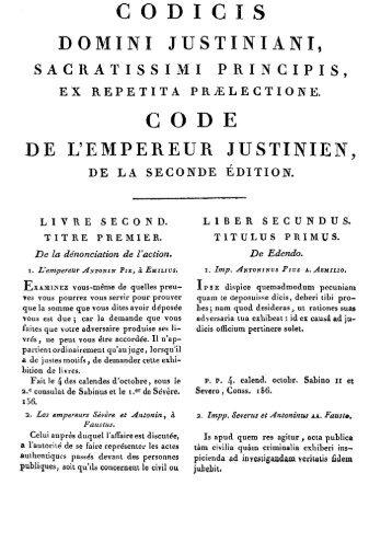 code, livre - Histoire du droit