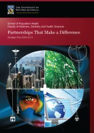 Strategic Plan for 2009 – 2013 - The University of Western Australia