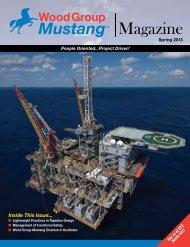 Spring 2013 - Mustang Engineering Inc.