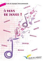 Guide de l'Ecole de musique intercommunale - Communauté de ...