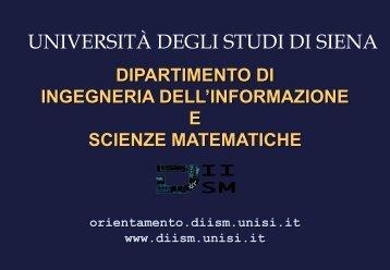 qui - Unisi.it - Università degli Studi di Siena