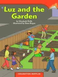 Lesson 7:Luz and the Garden