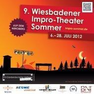 Programmheft 2012 - Improsommer in Wiesbaden