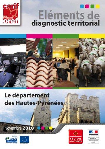 Eléments de diagnostic territorial - Carif Oref Midi-Pyrénée