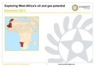 Exploring West Africa's oil and gas potential ... - Chariot Oil & Gas