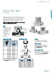리프트 체크 밸브50 시리즈 (MS-01-98;rev_8;ko-KR) - Swagelok