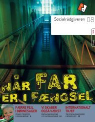 Socialrådgiveren nr. 8-2011 - Dansk Socialrådgiverforening