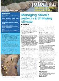 Joto Afrika Issue 2:Layout 1.qxd - Arid Lands Information Network