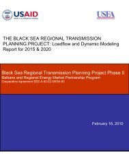 Phase II: Loadflow and Dynamic Modeling Report for 2015 & 2020