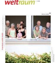 2008 Welt Raum - NEULAND