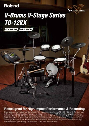 V-Drums V-Stage Series TD-12KX - Roland