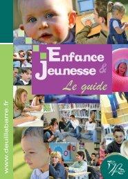 Téléchargez le guide enfance & jeunesse - Deuil-la-Barre