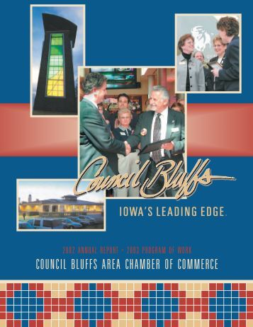 !annual report 11.7 - Council Bluffs Area Chamber of Commerce