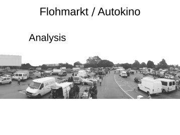 Flohmarkt / Autokino - Institute TU Wien