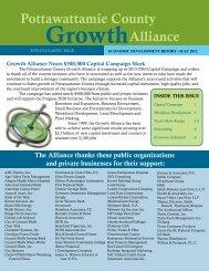 Economic Development Report - July 2012 - Council Bluffs Area ...