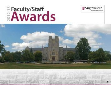 Download a PDF - Virginia Tech News