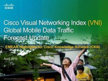 2012 2017 - Cisco Knowledge Network