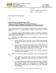 SURAT PEKELILING IKHTISAS BIL. 2/1994 - Kementerian ...