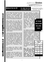 Newsletter 25 - Different Strokes