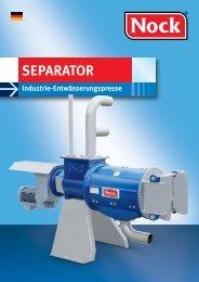 SEPARATOR SP 254/1 - NOCK GmbH