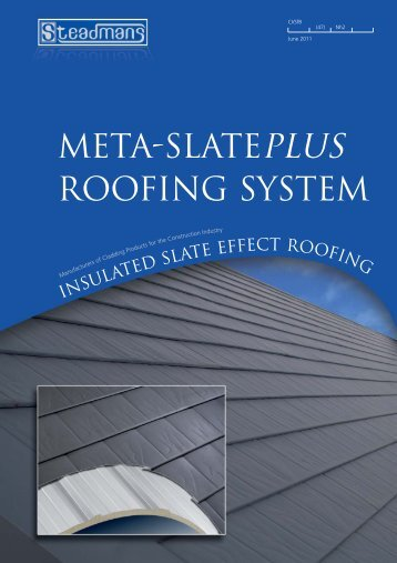 Meta-Slate Plus Roofing System Brochure - Barbour Product Search