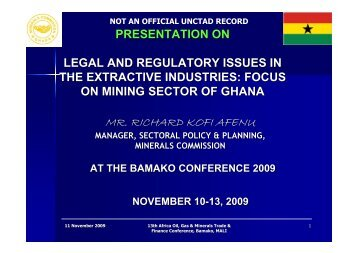 13thAfrican_Richard Afenu 5.pdf - Unctad XI