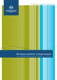 All about wokers' compensation: A guide for employees ... - Comcare