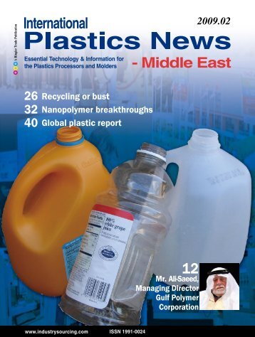 International Plastics News – Middle East - Isler Annoncen AG