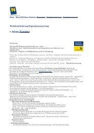 Wohnbauförderung Eigenheimsanierung Antrag / Formulare